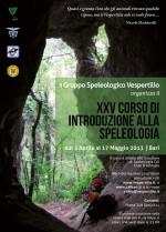XXV Corso di Introduzione alla Speleologia