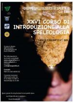 XXVI Corso di Introduzione alla Speleologia