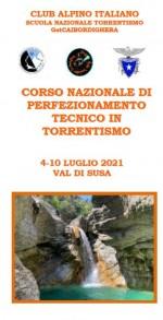 CORSO NAZIONALE DI PERFEZIONAMENTO TECNICO IN TORRENTISMO